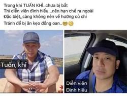 Một nam MC gặp rắc rối vì giống đối tượng Tuấn