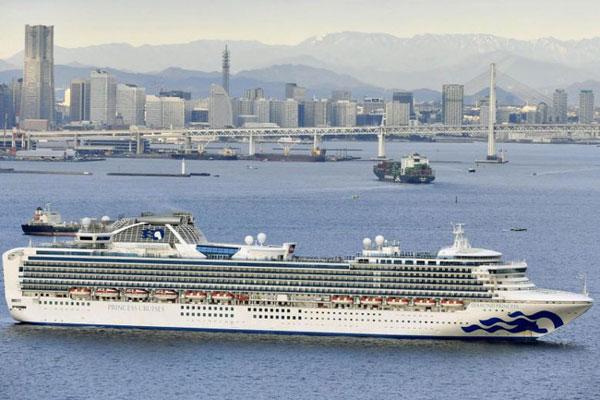 Nhật Bản cách ly 3.500 người trên du thuyền hạng sang để kiểm tra sức khỏe giữa lúc dịch viêm phổi hoành hành-1