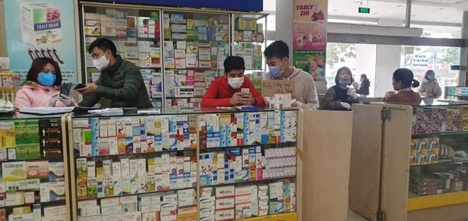 Có hay không việc chợ thuốc Hapulico liên kết không nhập khẩu trang?-1