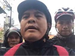 Cảnh sát hình sự Công an Bình Dương mời ông Nguyễn Thanh Hải lên làm việc