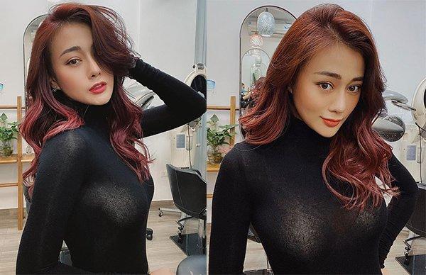 Chán tóc ngắn, Quỳnh Búp Bê thay đổi 180 độ với mái tóc dài vừa sexy vừa sang chảnh-3