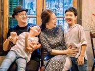 Bố say rượu nằm ngủ ngáy khò khò, con trai Đan Lê nhanh trí bào chữa hộ khiến mẹ dở khóc dở cười