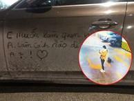 Xôn xao câu chuyện cô gái viết lời làm quen trên xế sang Audi, bị vợ chủ xe chụp luôn ảnh, đăng lên mạng dằn mặt cực 'gắt'