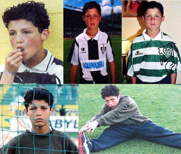 Trong ngày sinh nhật tuổi 35, Ronaldo bất ngờ bị fan đào lại ảnh từ 30 năm trước: Hóa ra, CR7 vốn đẹp trai từ bé-3