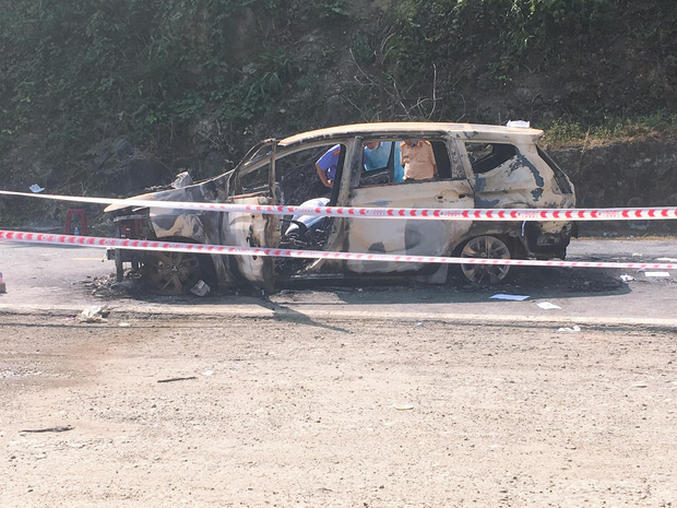 2 người chết trong ô tô sau tiếng nổ lớn ở Quảng Nam là vợ chồng-2