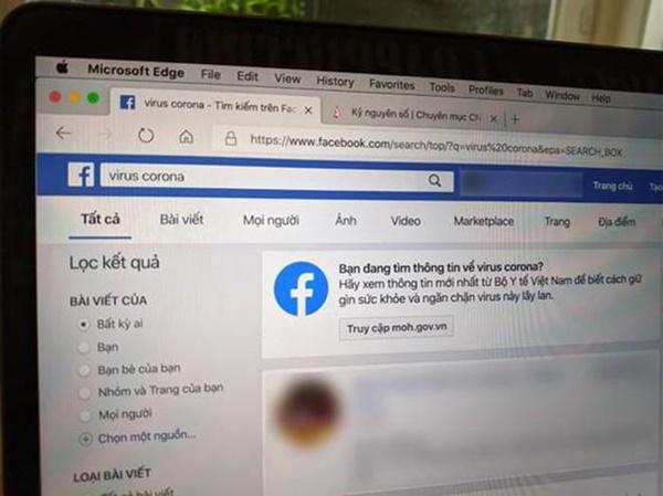 Đây là cách Facebook chống lại tin giả về virus Corona tại Việt Nam-2