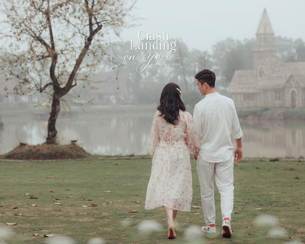 Đám cưới Duy Mạnh - Quỳnh Anh được trang hoàng bởi 500.000 viên pha lê, ảnh cưới theo bộ phim đình đám Hàn Quốc Hạ cánh nơi anh-8