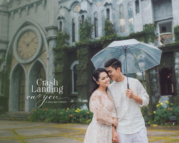 Đám cưới Duy Mạnh - Quỳnh Anh được trang hoàng bởi 500.000 viên pha lê, ảnh cưới theo bộ phim đình đám Hàn Quốc Hạ cánh nơi anh-4