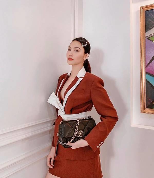 Ngắm gu thời trang của Lan Khuê: Gái một con sành điệu, gợi cảm-3