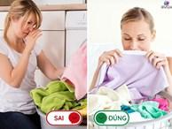6 lỗi sai bất ngờ khi giặt đồ, tưởng đơn giản nhưng nhà nào cũng mắc