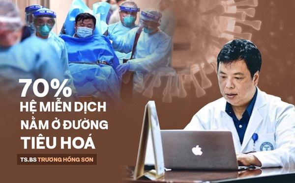 TS.BS Trương Hồng Sơn: Cách ăn đúng – uống đủ để cơ thể có miễn dịch để đối đầu với virus-1