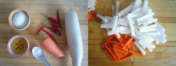 Củ cải trộn chua ngọt - ăn kèm món gì cũng hợp, cũng ngon-1