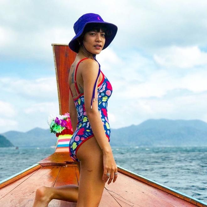 Nhan sắc nóng bỏng, cá tính của mỹ nhân Thái nổi tiếng trong MV Hương Giang-18