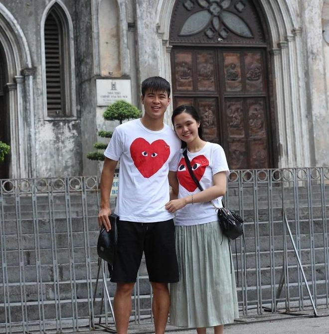Trước khi đám cưới, Duy Mạnh và Quỳnh Anh thường diện đồ đôi đắt đỏ-3