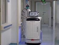 Bệnh viện khắp Trung Quốc sử dụng robot y tế đối phó virus corona