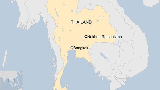 Quân nhân xả súng máy ở trung tâm thương mại Thái, 17 người thiệt mạng-5