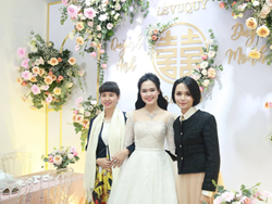 """Chị gái Quỳnh Anh tiết lộ chi phí của đám cưới em gái, con số khiến nhiều người phải xuýt xoa: """"Khủng như trong suy đoán"""""""