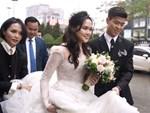Đám cưới của Quỳnh Anh - Duy Mạnh: Chú rể cực kì bảnh bao, cô dâu xinh đẹp đeo dây chuyền đính 186 viên kim cương giá 800 triệu-11