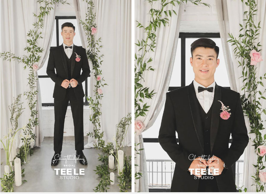 Hé lộ 2 bộ váy cưới cực lộng lẫy của Quỳnh Anh, nhưng xem ra chú rể Mạnh gắt còn điệu hơn cả cô dâu-4
