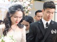 Đám cưới của Quỳnh Anh - Duy Mạnh: Chú rể cực kì bảnh bao, cô dâu xinh đẹp đeo dây chuyền đính 186 viên kim cương giá 800 triệu