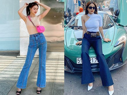 """Kiểu quần """"kéo chân"""" hot hit mùa xuân của loạt sao Việt: Nhìn qua là muốn tậu về diện ngay và luôn"""