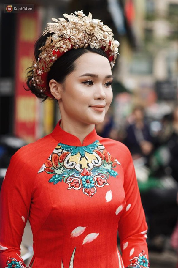 Sau pha makeup lỗi trong đám hỏi, Quỳnh Anh đã lấy lại phong độ, họa mặt xinh tươi chuẩn công chúa rồi!-10