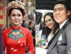 Sau pha makeup lỗi trong đám hỏi, Quỳnh Anh đã lấy lại phong độ, họa mặt xinh tươi chuẩn công chúa rồi!