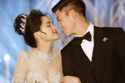 Loạt khoảnh khắc đẹp nức nở trong đám cưới Quỳnh Anh - Duy Mạnh: Cổ tích của công chúa và hoàng tử thật rồi!