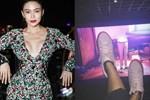 Từ cái gác chân kém duyên của Mâu Thủy: Những đôi chân hư hỏng của sao Việt khiến khán giả nhức mắt vì hành động xấu xí nơi công cộng-6