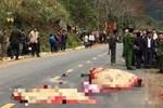 Hà Nội: Người phụ nữ dắt con xin tiền trên cầu Thanh Trì bị xe máy tông chết-2
