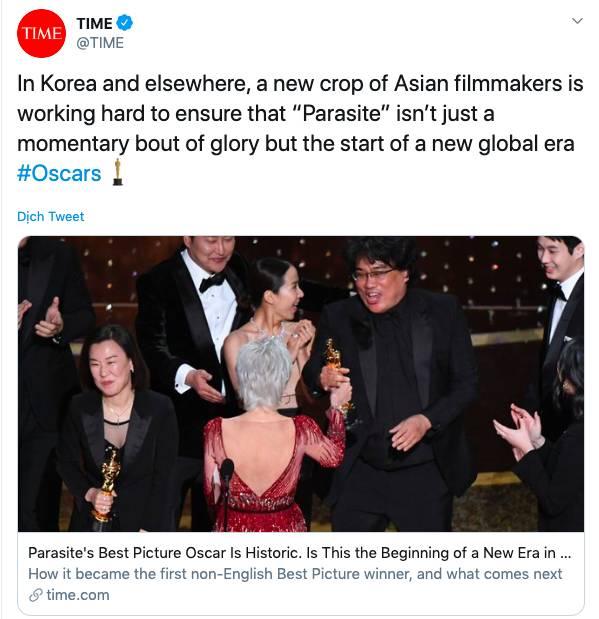 """Ký sinh trùng đoạt 4 giải Oscar: Cả thế giới rúng động trước chiến thắng lịch sử 92 năm có 1"""" của điện ảnh châu Á-3"""