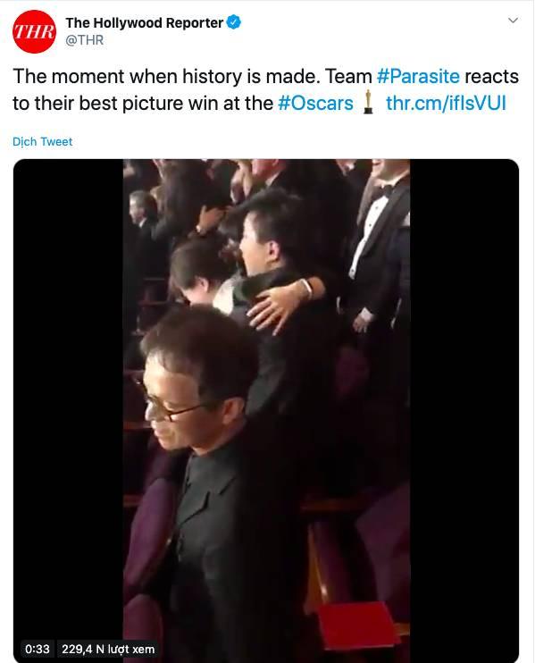 """Ký sinh trùng đoạt 4 giải Oscar: Cả thế giới rúng động trước chiến thắng lịch sử 92 năm có 1"""" của điện ảnh châu Á-4"""