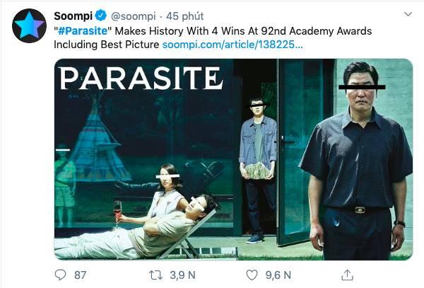 """Ký sinh trùng đoạt 4 giải Oscar: Cả thế giới rúng động trước chiến thắng lịch sử 92 năm có 1"""" của điện ảnh châu Á-7"""