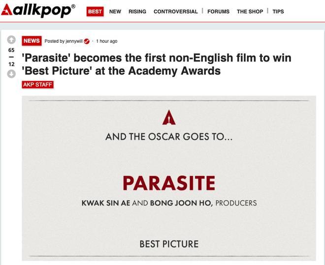 """Ký sinh trùng đoạt 4 giải Oscar: Cả thế giới rúng động trước chiến thắng lịch sử 92 năm có 1"""" của điện ảnh châu Á-8"""