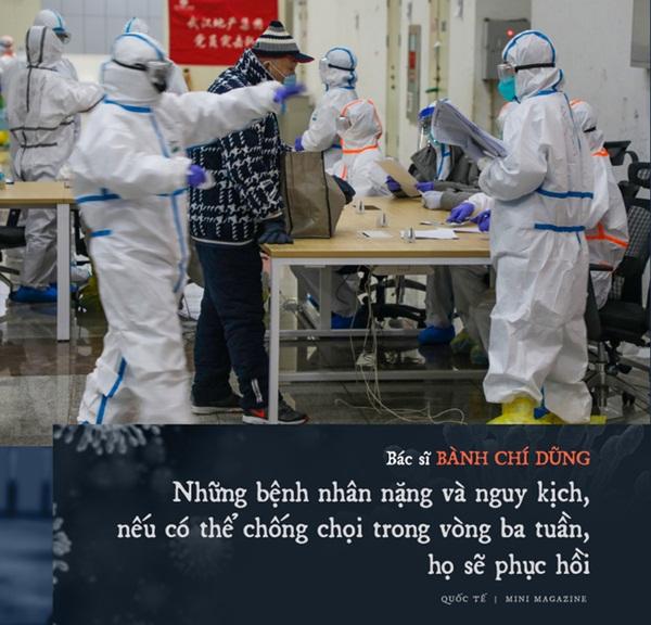 Chia sẻ của bác sĩ TQ về sự sống và cái chết ở Vũ Hán: Tôi đã khóc, có bệnh nhân quỳ xuống cầu xin tôi cho nằm viện-5