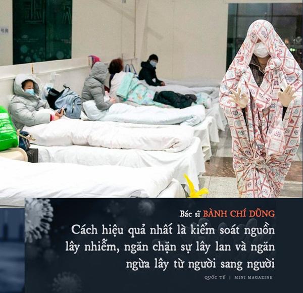 Chia sẻ của bác sĩ TQ về sự sống và cái chết ở Vũ Hán: Tôi đã khóc, có bệnh nhân quỳ xuống cầu xin tôi cho nằm viện-7