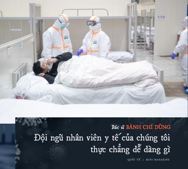 Chia sẻ của bác sĩ TQ về sự sống và cái chết ở Vũ Hán: Tôi đã khóc, có bệnh nhân quỳ xuống cầu xin tôi cho nằm viện-10