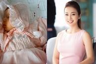Jennifer Phạm lần đầu công khai diện mạo đáng yêu của con gái vừa tròn 1 tháng tuổi