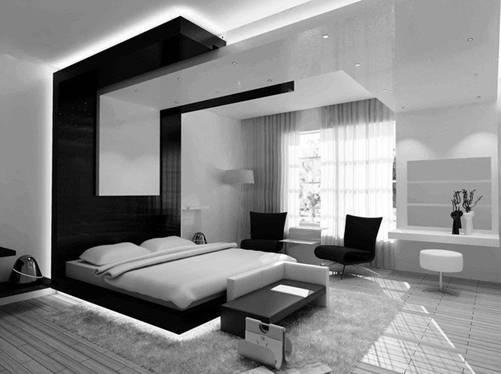 Căn hộ nội thất màu đen vô cùng huyền bí và sang trọng-5