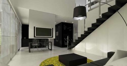 Căn hộ nội thất màu đen vô cùng huyền bí và sang trọng-6