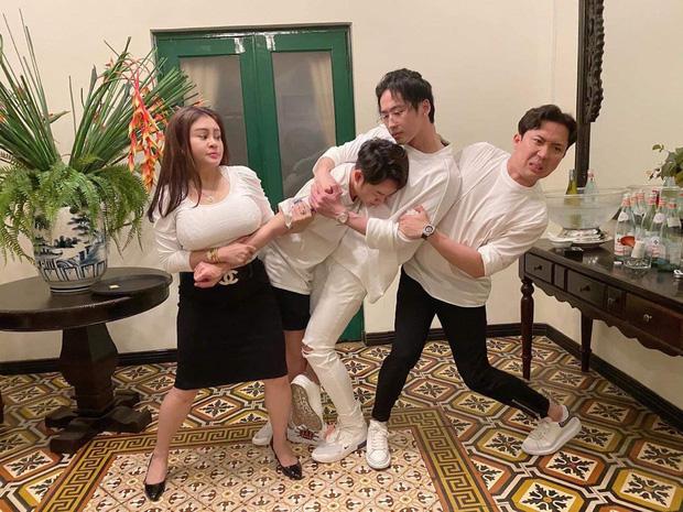 Sinh nhật Trấn Thành nhưng Lê Giang chiếm trọn spotlight vì vòng một quá khủng-1