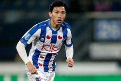 Văn Hậu mang số áo lạ và đá chính giúp đội bóng Hà Lan trả món nợ thua đậm hồi đầu mùa