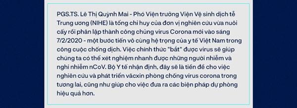 Tin vui đặc biệt từ Việt Nam và bí mật căn phòng đáng sợ nuôi cấy virus Corona-1