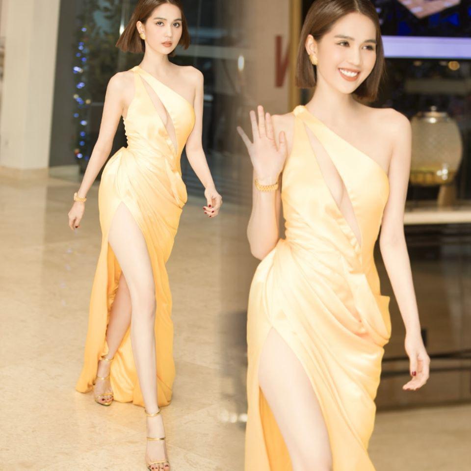 Ngọc Trinh chọn sai váy gợi cảm, để lộ thân hình gầy trơ xương đến xót xa-6