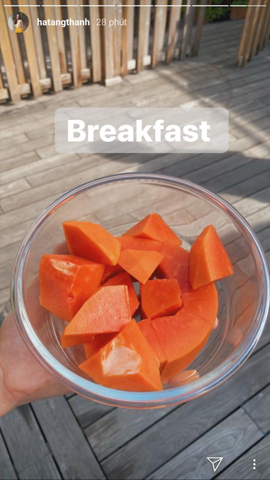 Ăn đu đủ vào bữa sáng như Hà Tăng hoặc tại thời điểm này sẽ giúp chị em giảm cân, giữ dáng thần sầu-1