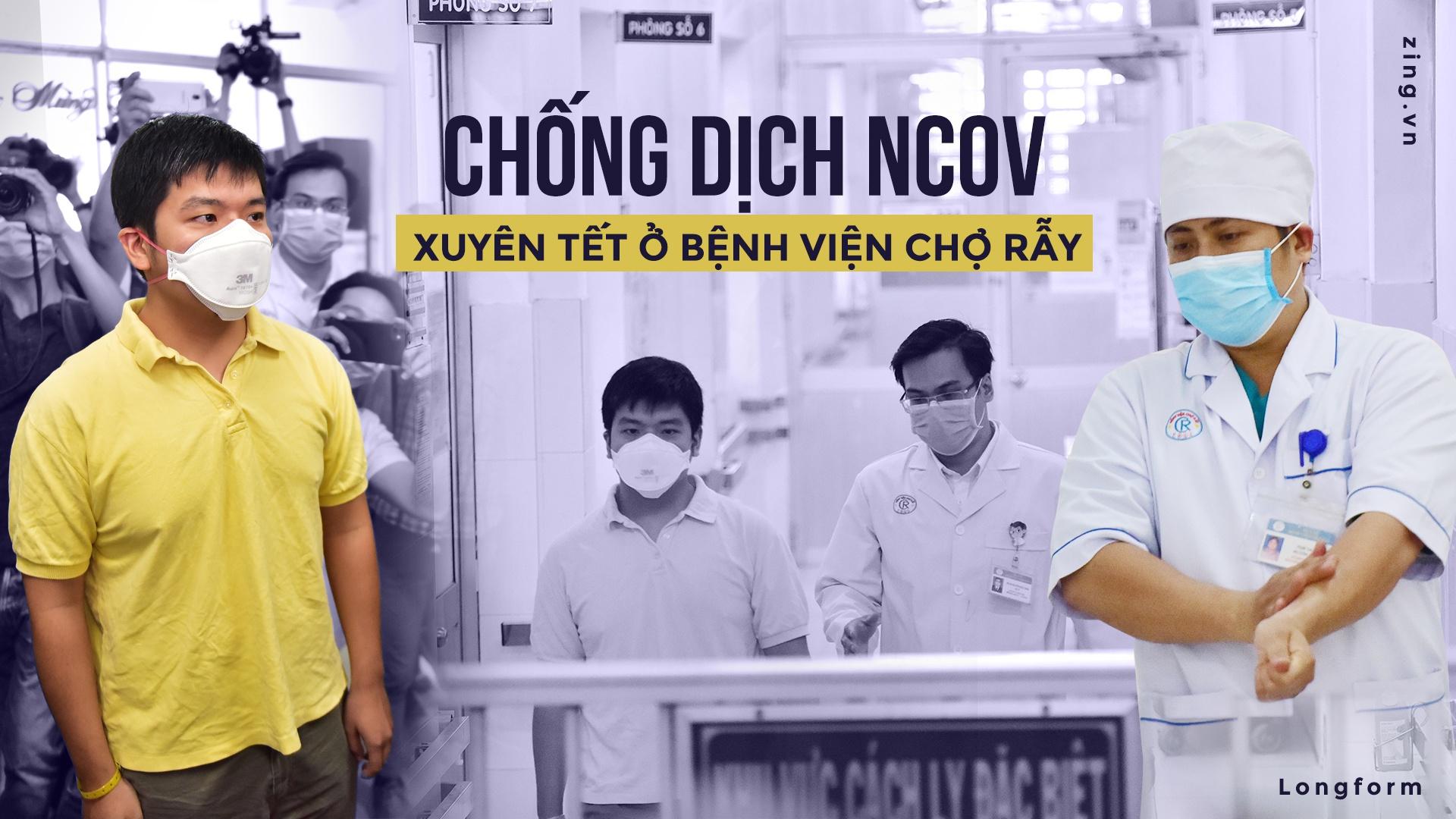Chống dịch NCOV xuyên tết ở bệnh viện chợ Rẫy