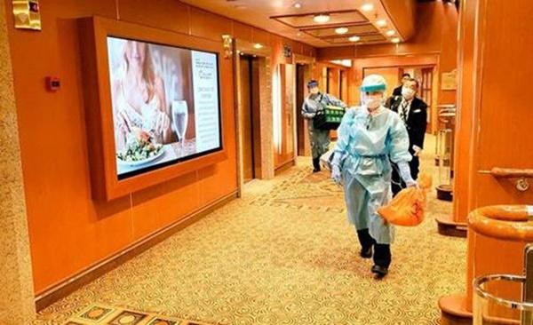 Những bữa ăn trên du thuyền Nhật Bản bị cách ly: Không khác gì nhà hàng hạng sang-1