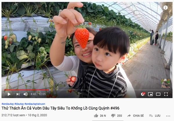 Đánh liều cho bé Sa xuất hiện lại trong vlog, Quỳnh Trần JP ngay lập tức phải đổi tên clip vì bị Youtube sờ gáy lần nữa?-3