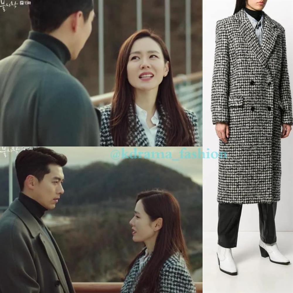 Ngay khi tập 13 Hạ cánh nơi anh được phát sóng, chiếc áo khoác 25 triệu mà Son Ye Jin mặc đã lập tức cháy hàng-2