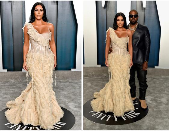 Kim Kardashian: Ham diện đầm siết chặt đến mức không thể ngồi hay đi lại như bình thường, nhìn thôi cũng thấy khó thở-1